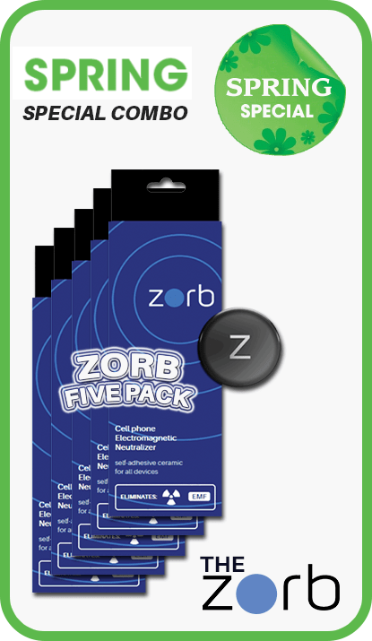 The Zorb Cell Phone EMF Radiation Absorber